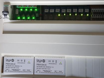 Nouvelles alimentations à découpage PSDX (secourues PSDX-C)  rail DIN, 12V / 24V de 0,6 A à 8,4 A