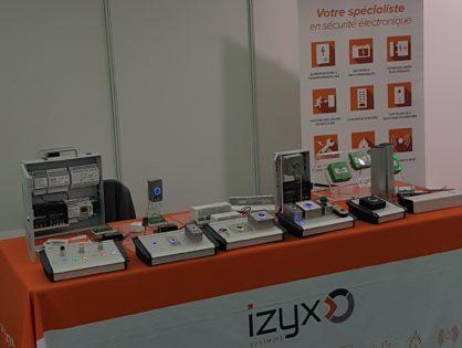 IZYX SYSTEMS salon privé Francofa Eurodis
