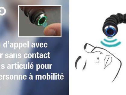 Capteur infrarouge IRS19 et son utilisation dans le domaine de la mobilité réduite